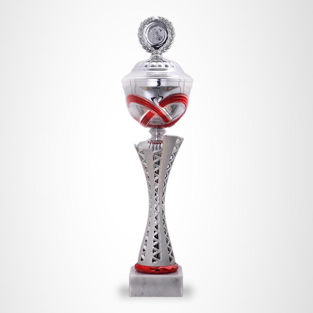 Pokale MONTANA RED mit Gravur und Emblem günstig kaufen in 6 Pokalgrößen